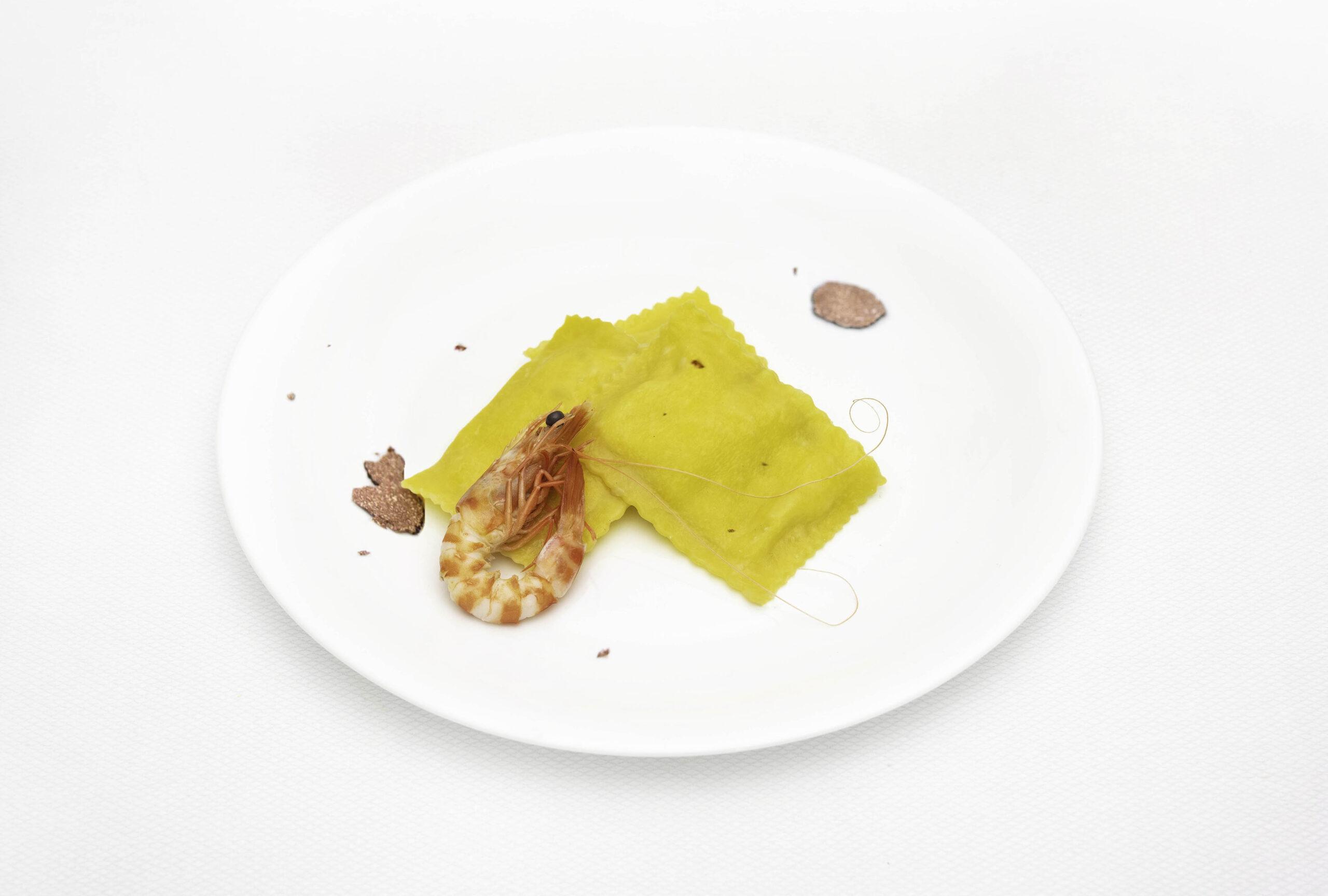 Pastificio_La_Fenice_Ravioloni_Cesenatico_mascarpone_tartufo_mazzancolle