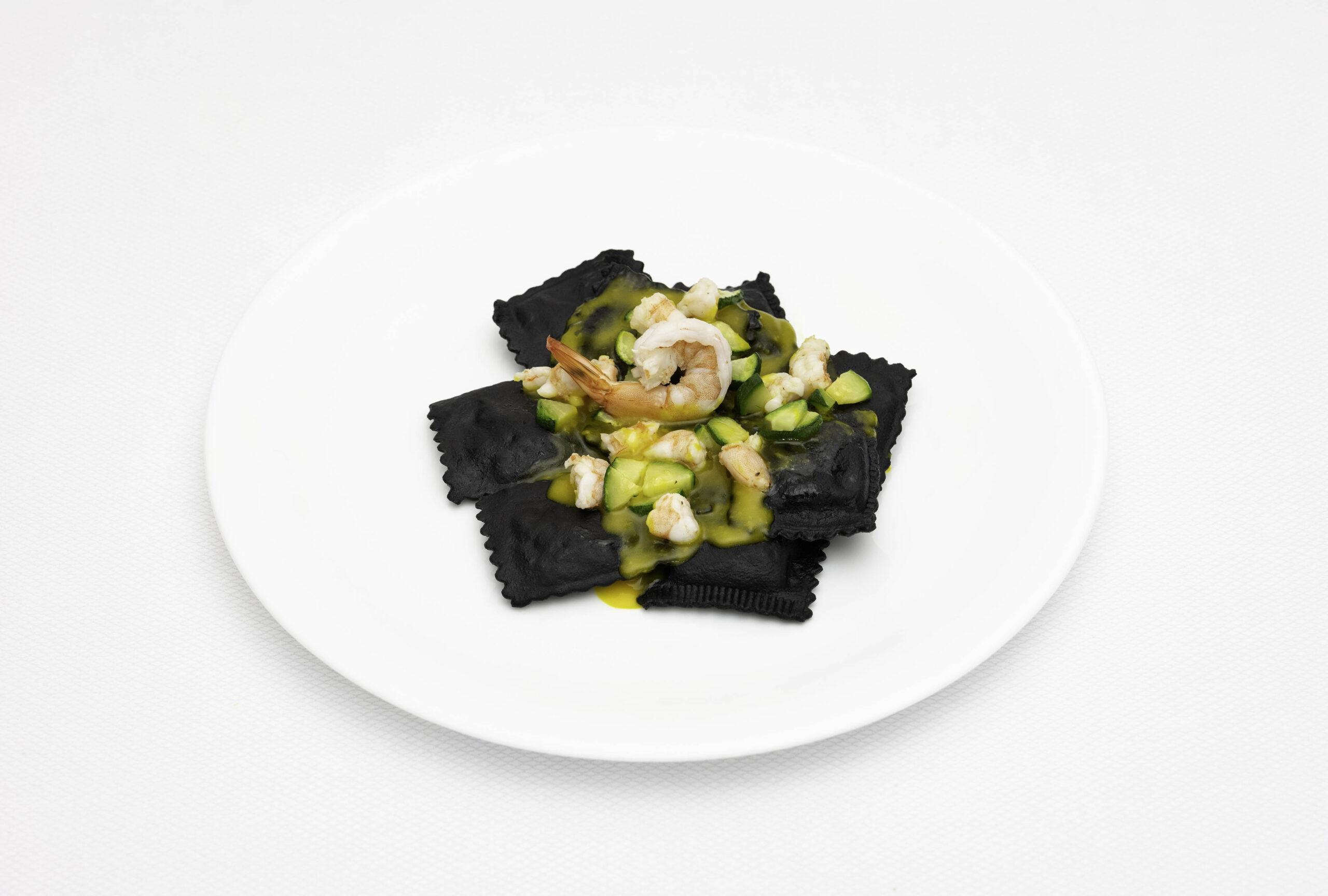 Pastifico-La-Fenice-pastificio-Cesenatico-pasta-fresca-pasta-surgelata-pasta-artigianale-Emilia-Romagna-Tortelli-neri-ai-crostacei